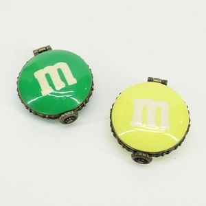 Small M&M Candy Chocolate Lovers Trinkets